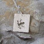 Silver Frog Pendant: A Tex..