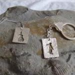 Silver Rabbit earrings: A p..