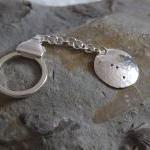Silver Cancer keyring: The ..